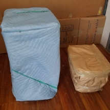 Packing of large and small items